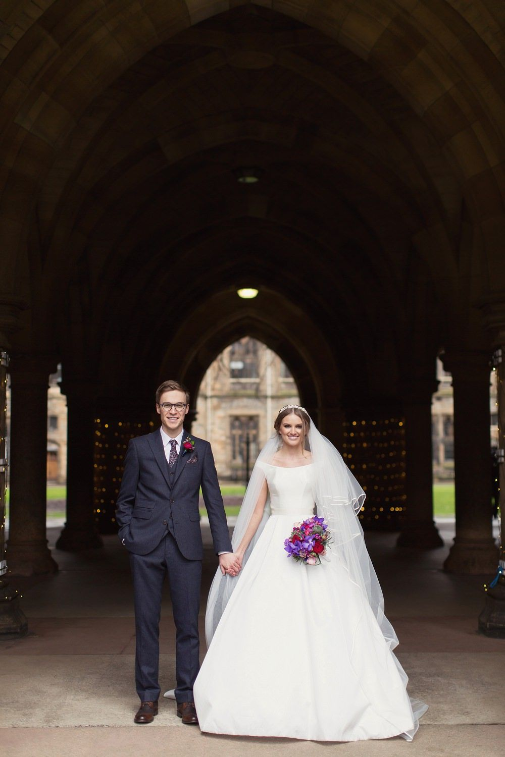 Super Luxe Wedding at Oran Mor in Glasgow with Manolo Blank Hangisi ...