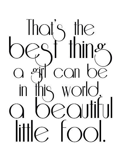 Quotes From The Great Gatsby Adorable The Great Gatsby Daisy's Quote  Les Années Folles  Pinterest  Gatsby