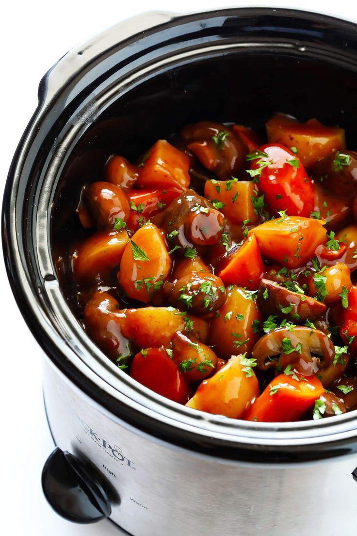 Portobello Pot Roast (Vegetarian!) | Gimme Some Ov