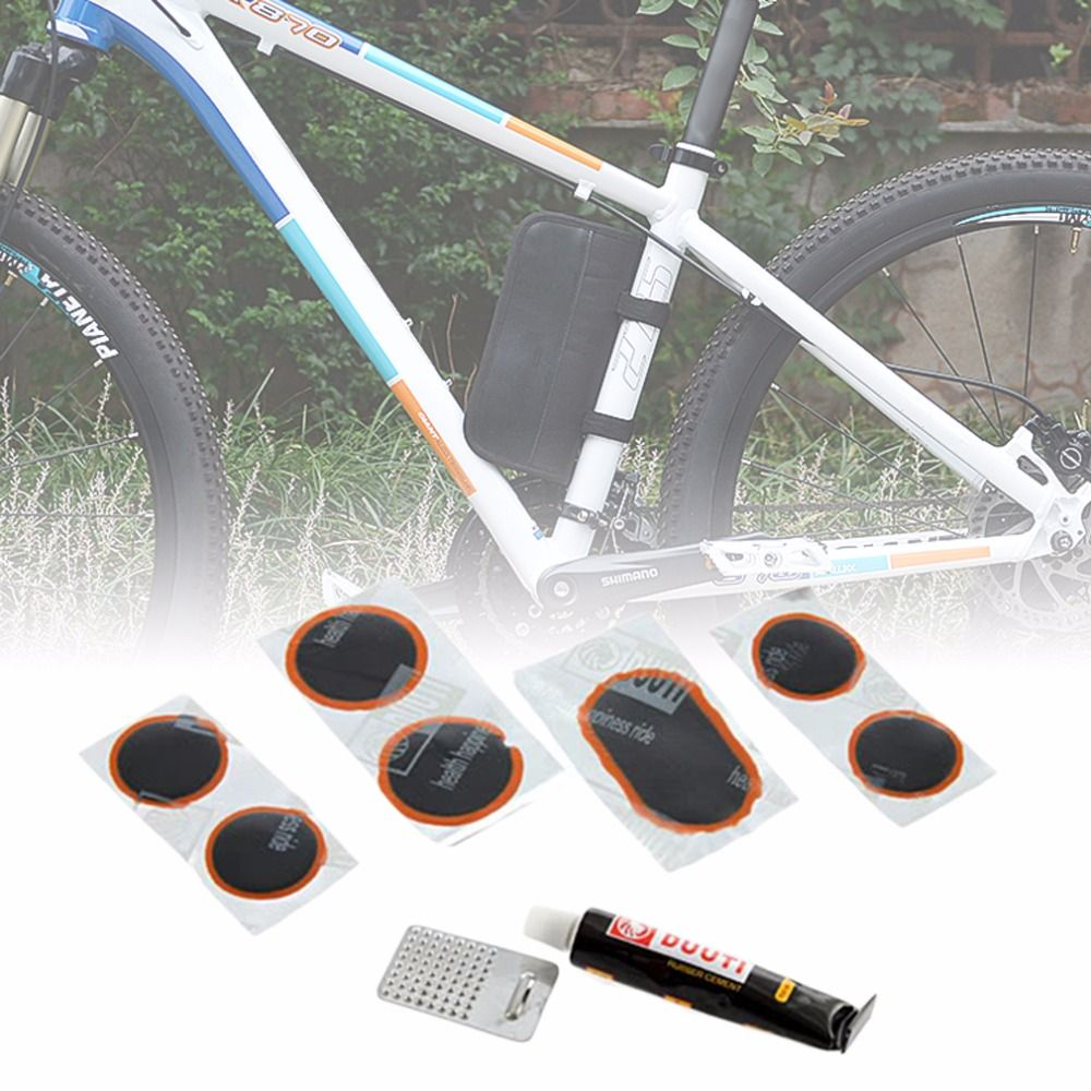 2017 New Bicycle Cycling Bike Tire Tyre Rubber Patch Glue Repair