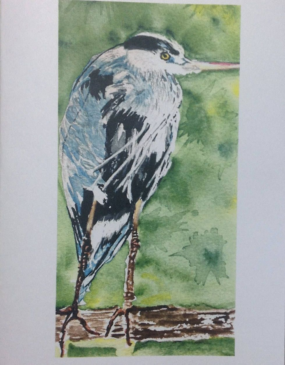 Friendship Greeting Cards Greeting Cards Handmadeheron Bird Art