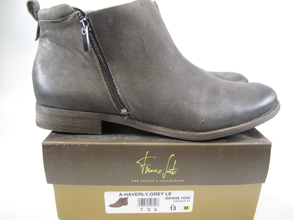 FRANCO SARTO Womens HAVERLY Grey Ankle Boot Size US 13 (D0469L1020 ...