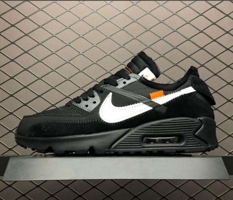 ef707ffe9f 2019 Off White x Nike Air Max 90 Black Cone White | Sneakerz 2 Clean