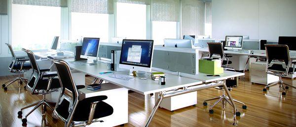 Office Room Interior Render 3D