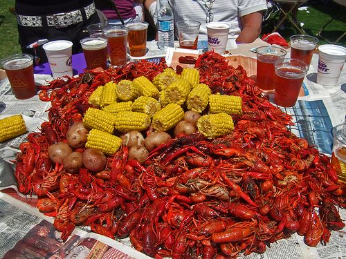 I miss eating some good ol' spicy Crawfish !