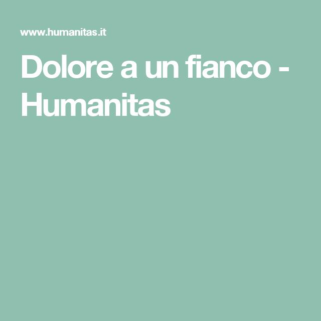 Dolore a un fianco - Humanitas