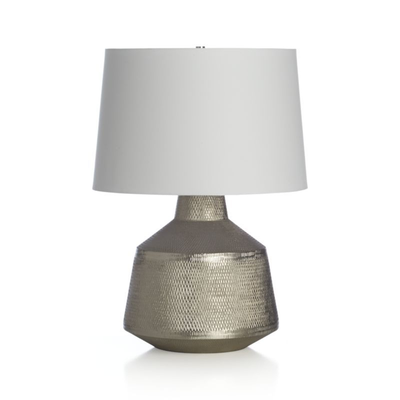Ancora Table Lamp Table Lamp Lamp Silver Table Lamps
