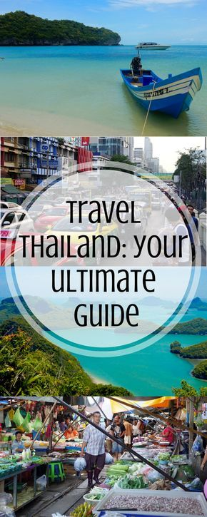 Thailand: For Tourists! - The Traveler's Guide to Make The Most Out of Your Trip to Thailand - Where