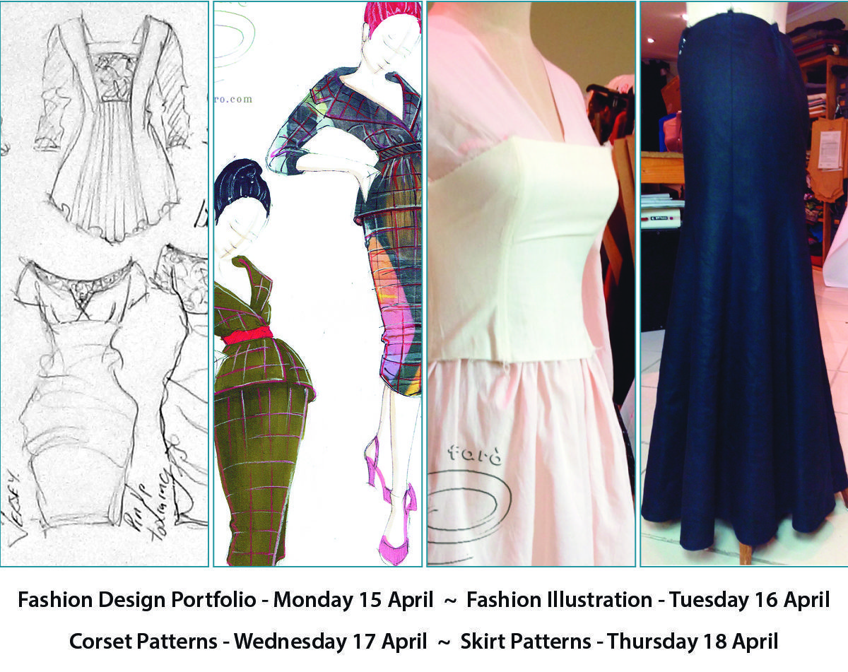 Have You Ever Though About Becoming A Fashion Designer These 4 Workshops Are The Best Preparat Fashion Design Fashion Design Patterns Fashion Design Portfolio