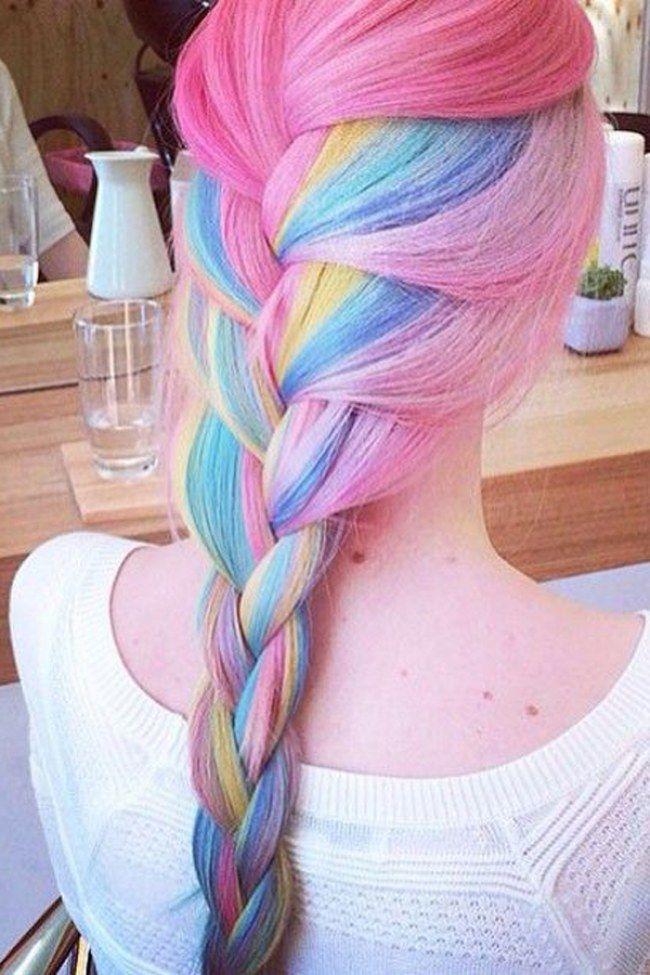 Diese Kuriosen Haartrends Machen Den Sommer 2015 Kunterbunt H