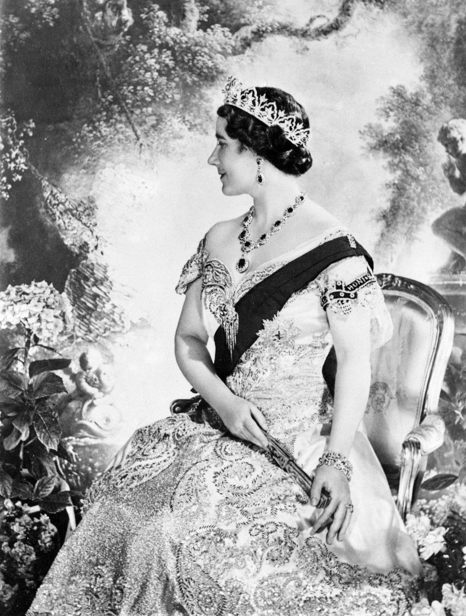 The former Duchess of York (Queen Elizabeth's mother