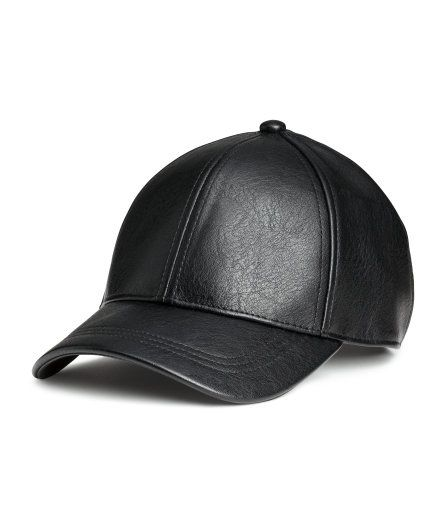 6a4bccb4556 Cap with an adjustable metal fastener at back. - Visit hm.com to see more.