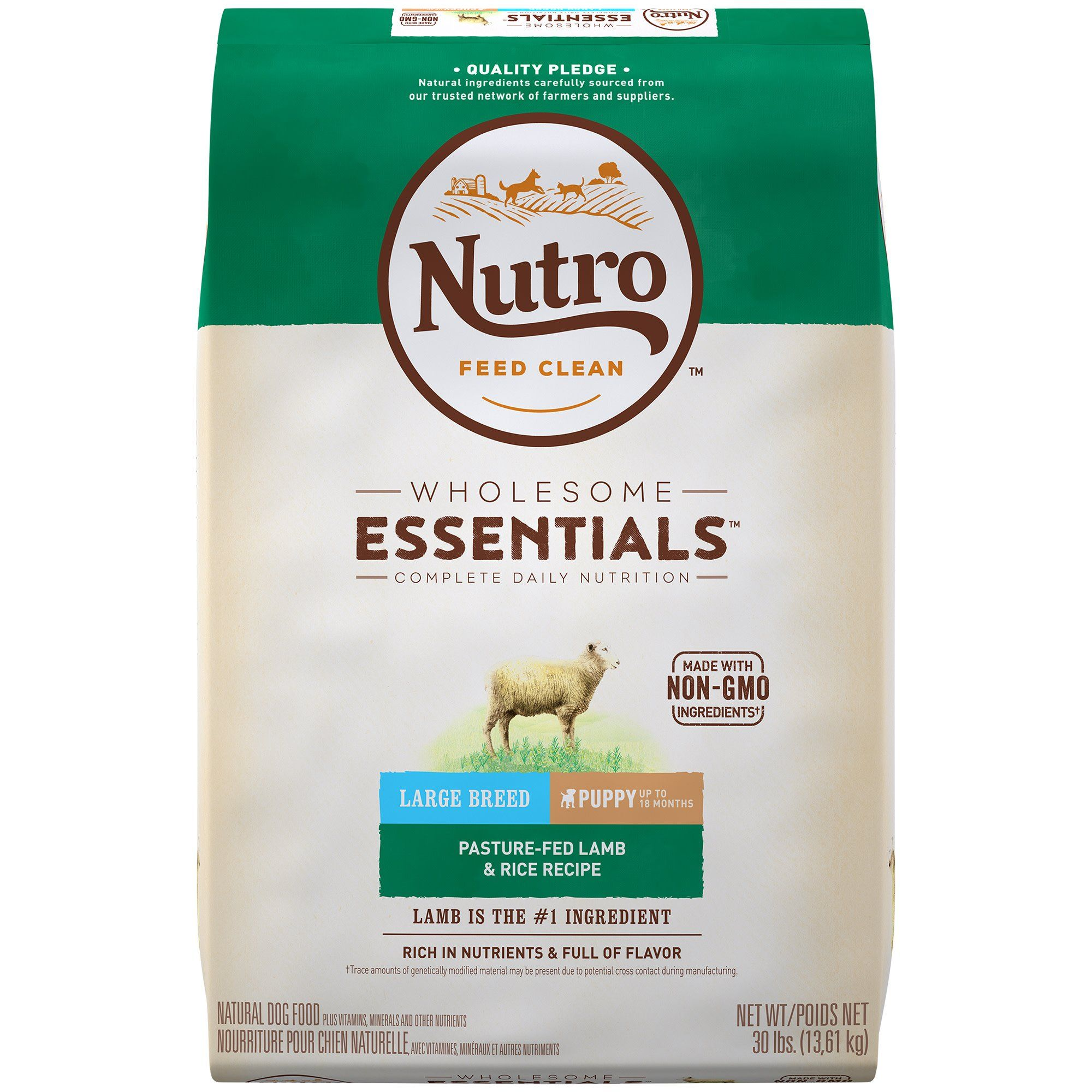 Nutro Wholesome Essentials Puppy Large Breed Natural Lamb Rice