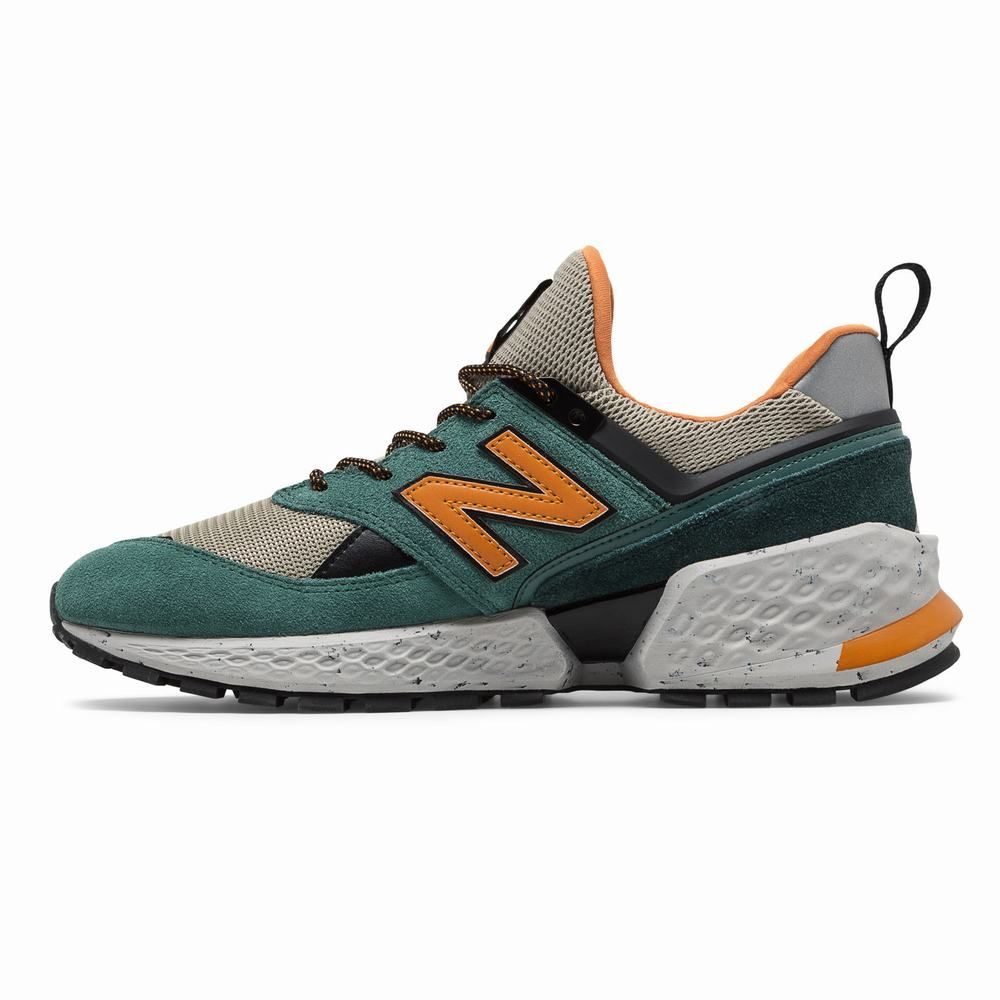 New Balance 574 Mens Casual Sports Shoes Green (IN29573