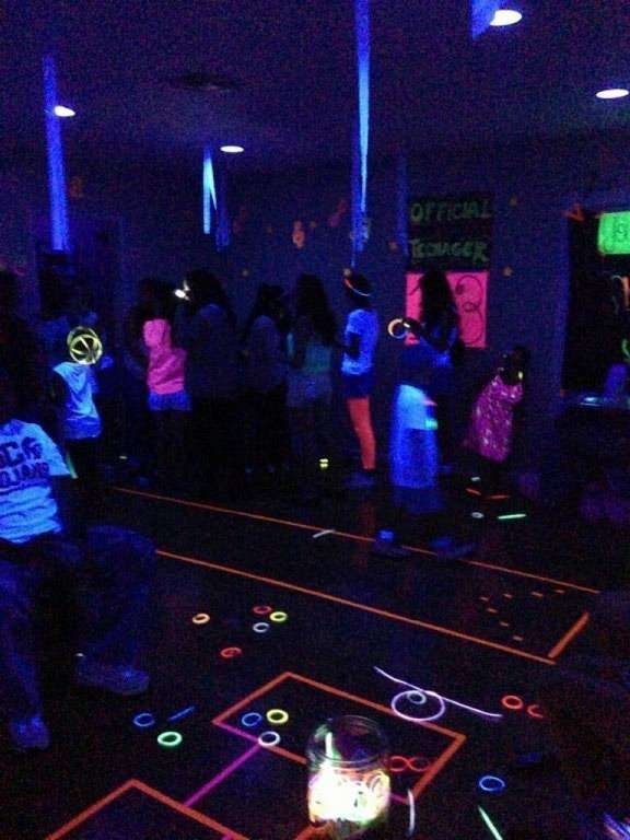 Glow In The Dark Game Ideas Spaceships And Laser Beams
