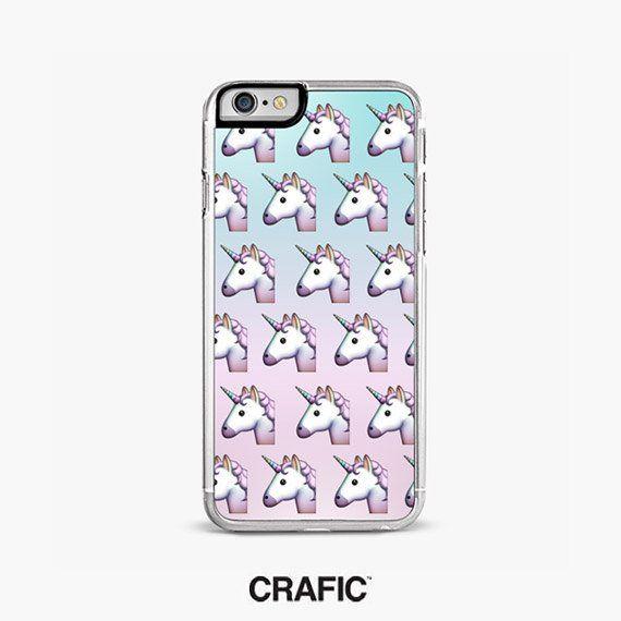 new arrival 5efe5 92c2c Unicorns IPHONE 8 CASE emoji iPhone 6S case pink iPhone 6 Plus case ...