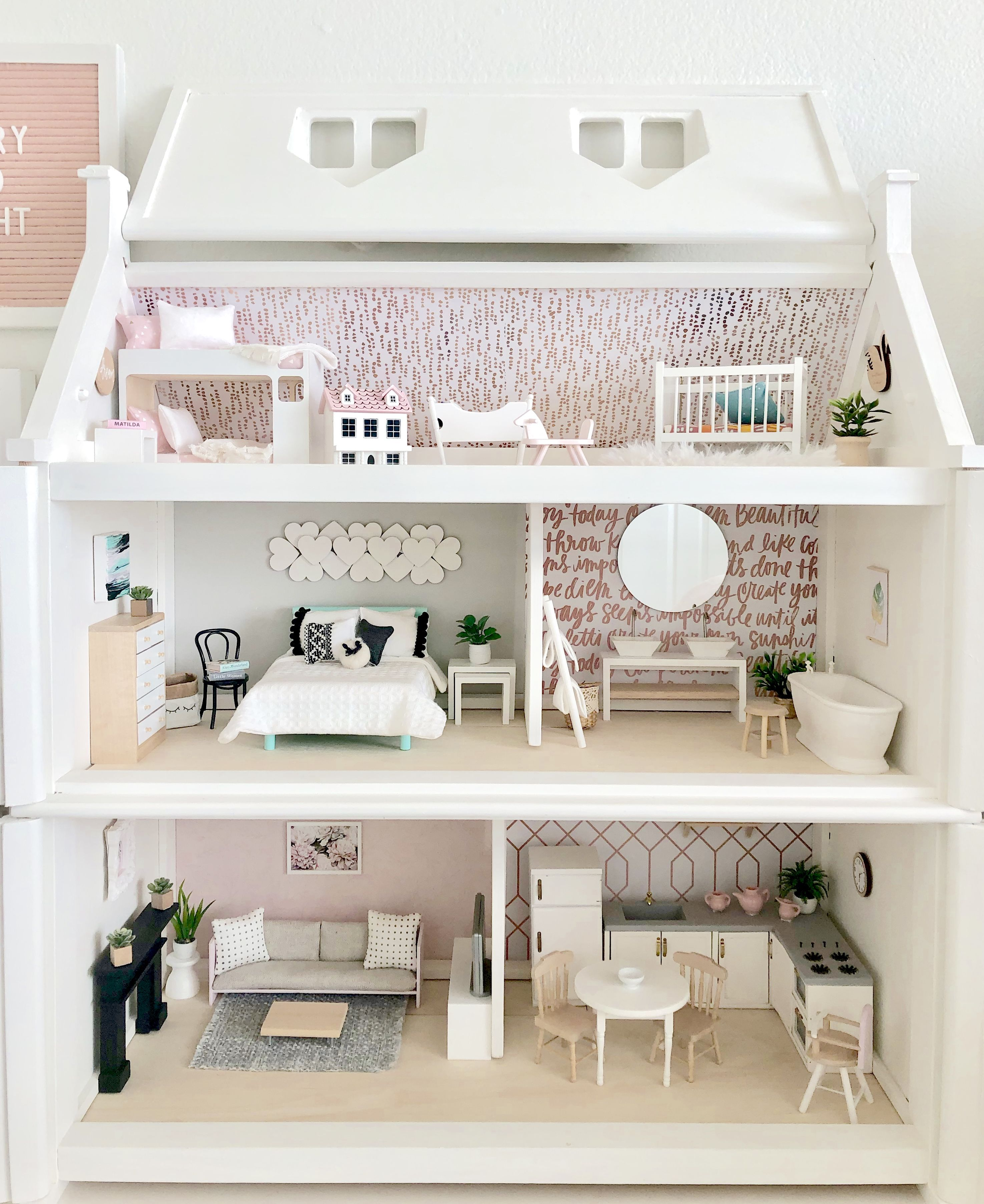 Elena's Officially Forever Dollhouse - Project Nursery