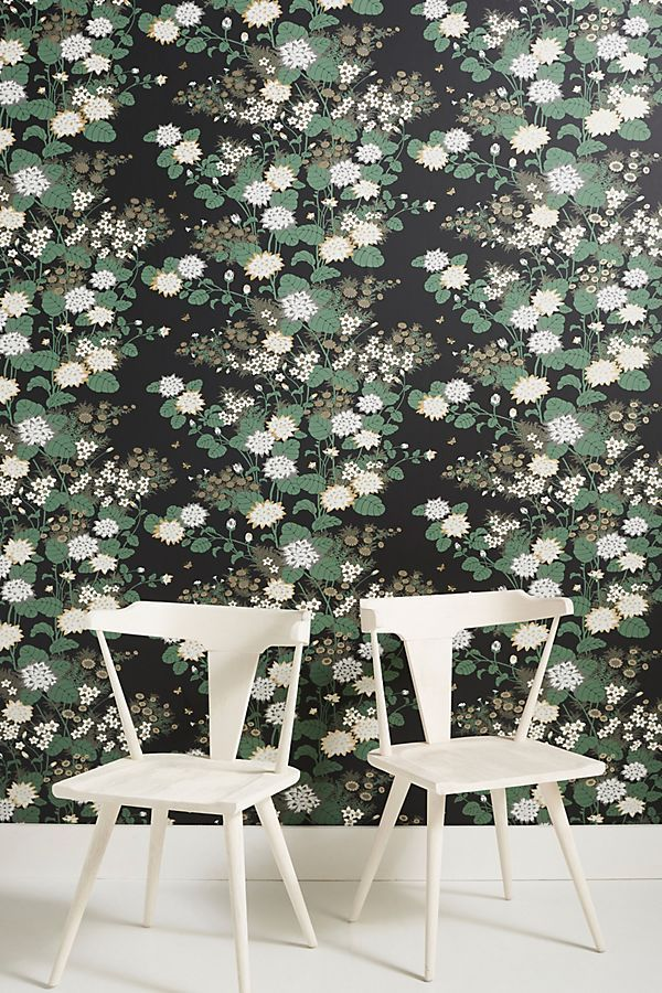 Constance Wallpaper Modern floral wallpaper, Unique