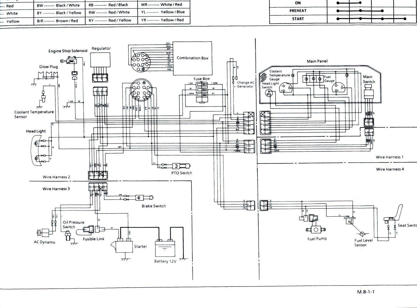 New Wiring Diagram for Kipor Generator diagram