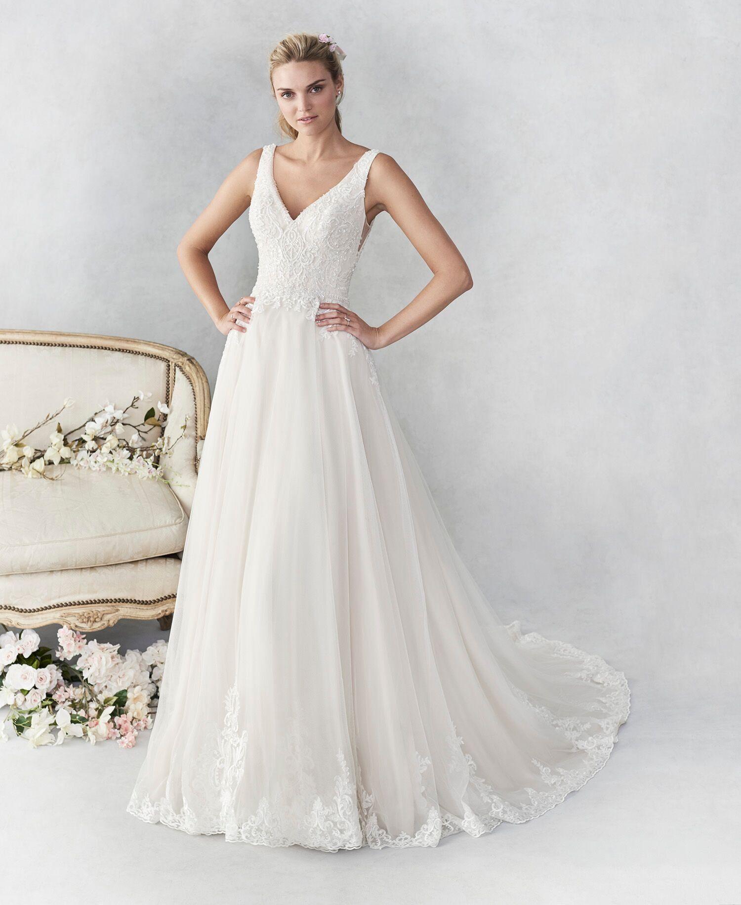 Romantic A Line Wedding Dress A Line Wedding Dress Simple Wedding Gowns Big Wedding Dresses