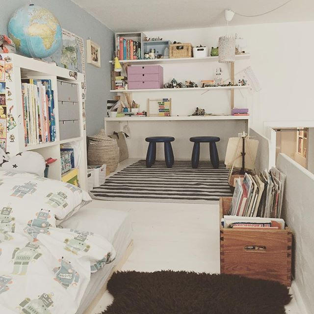 auf der hochebene unser gro er hat hier sein reich hochbett hochebene kinderzimmer kidsroom. Black Bedroom Furniture Sets. Home Design Ideas