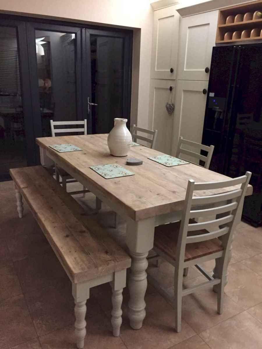 50 on a budget diy farmhouse table plans ideas (38