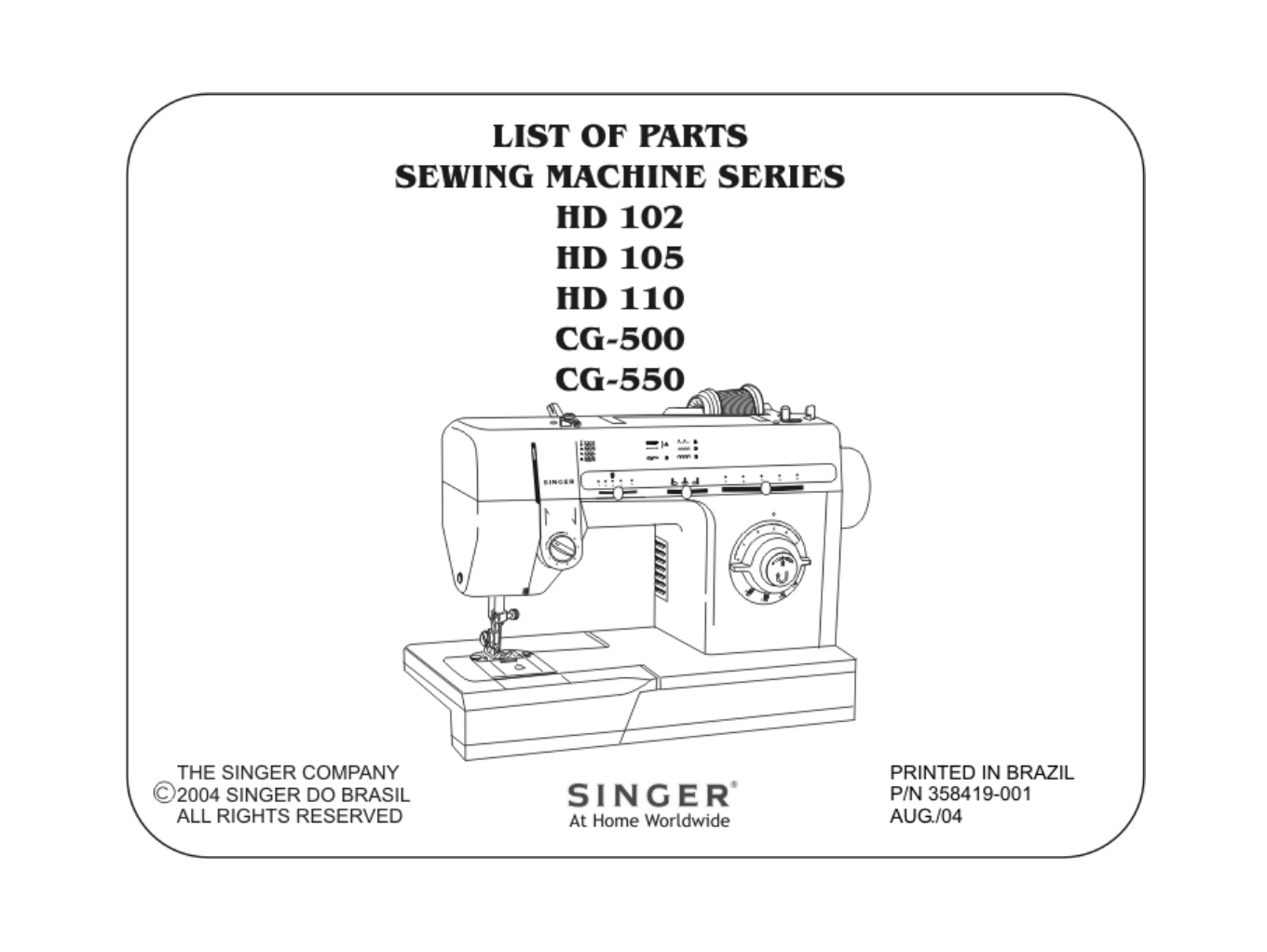 MNL-0721] White Sewing Machine Manuals Online | 2019 Ebook Liry