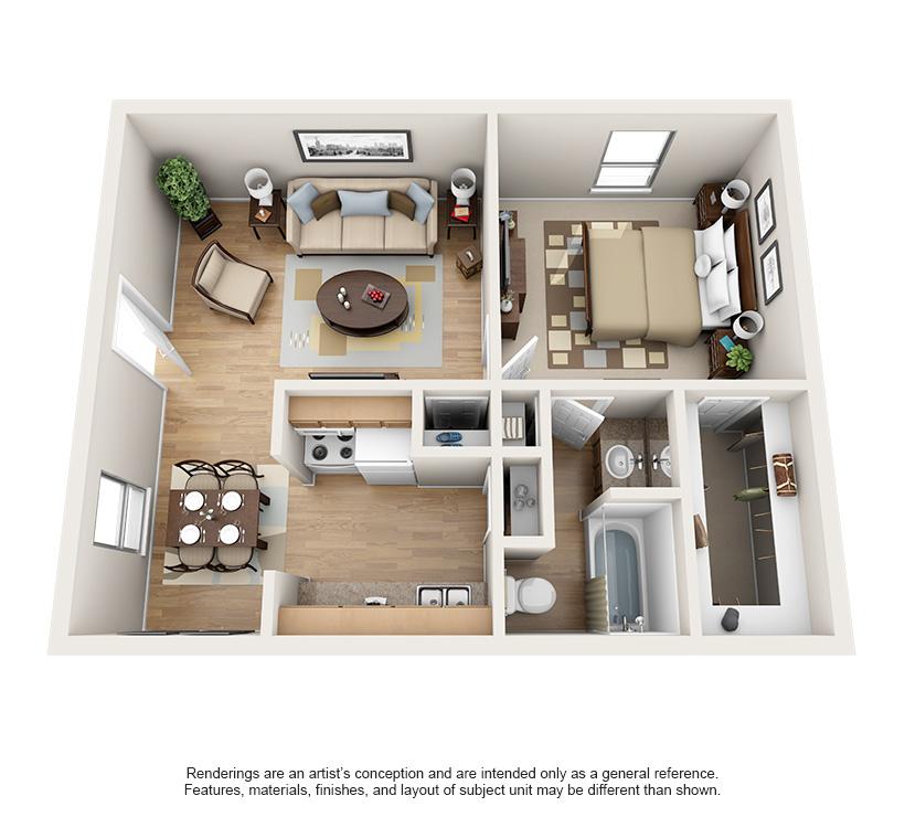 Luxury 1 2 Bedroom Apartments In Bellaire Floor Plans Steadfast Apartmen Small Apartment Floor Plans Small Apartment Plans 2 Bedroom Apartment Floor Plan