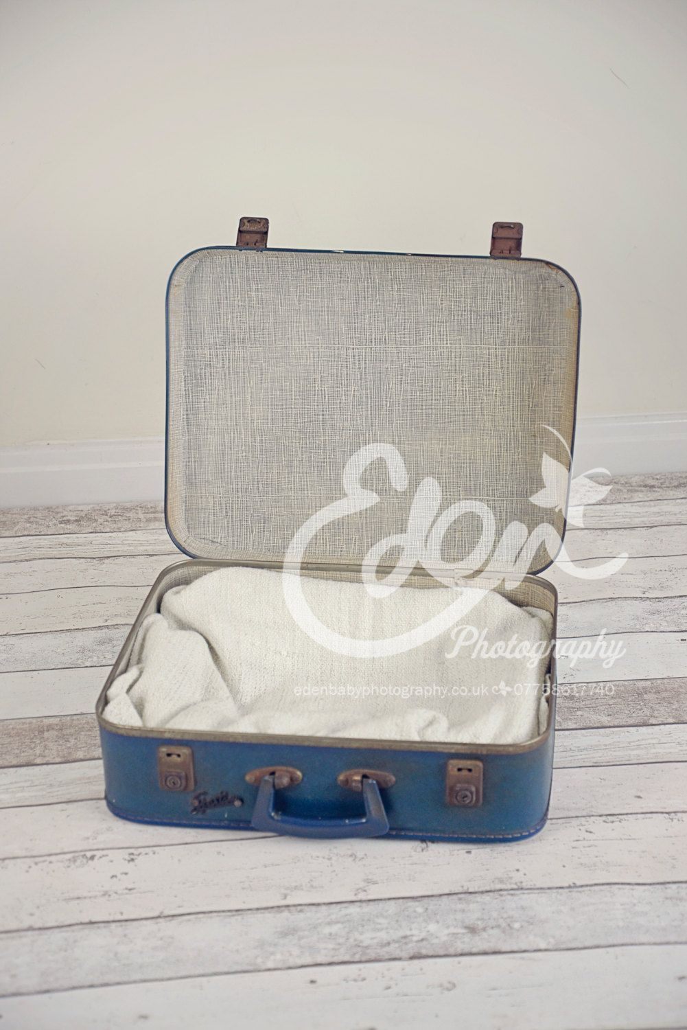 Digital Download Backdrop Blue Old Vintage Retro Suitcases Prop Scene Newborn Baby and Toddler Photography by EdenMedia1 on Etsy
