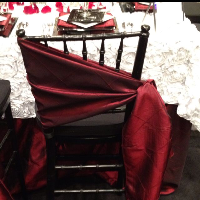 Non Typical Way To Tie Sash On Chairs Wedding Starters