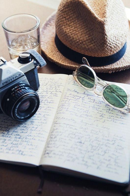 #Reisetagebuch schreiben und Fotos knipsen. http://bit.ly/1oyffAO