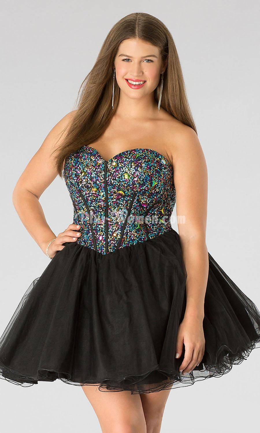 Homecoming Dresses Under 100 Plus Size