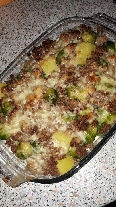 Kartoffel - Rosenkohl Auflauf von Süßschnautze   Chefkoch