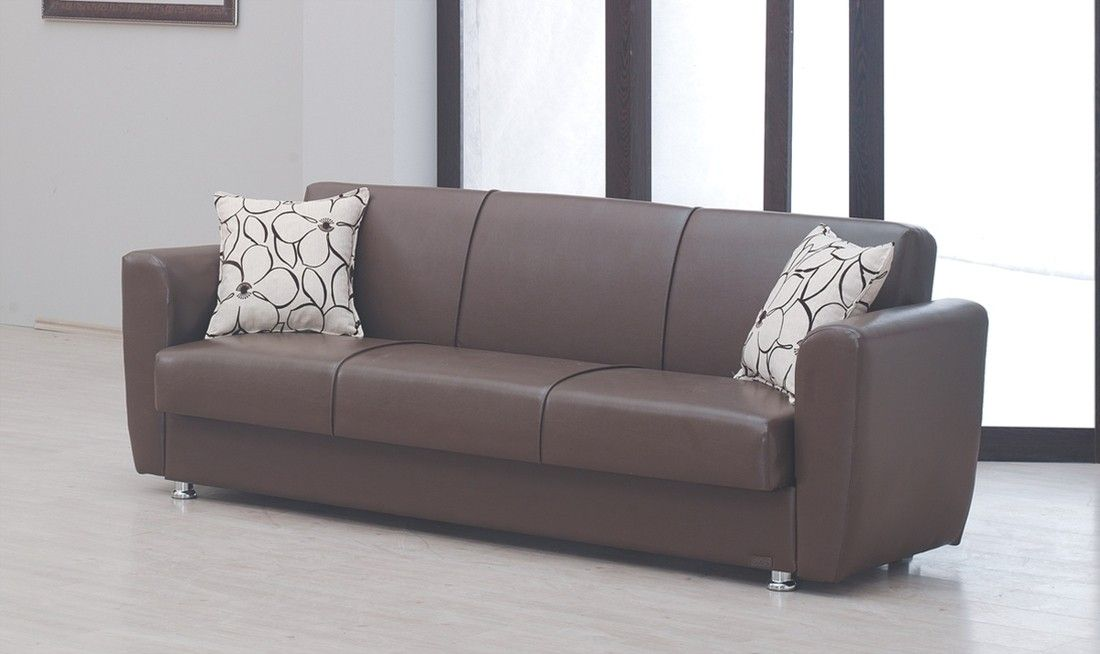 Tufted Sofa Vegas Sleeper Sofa with Storage