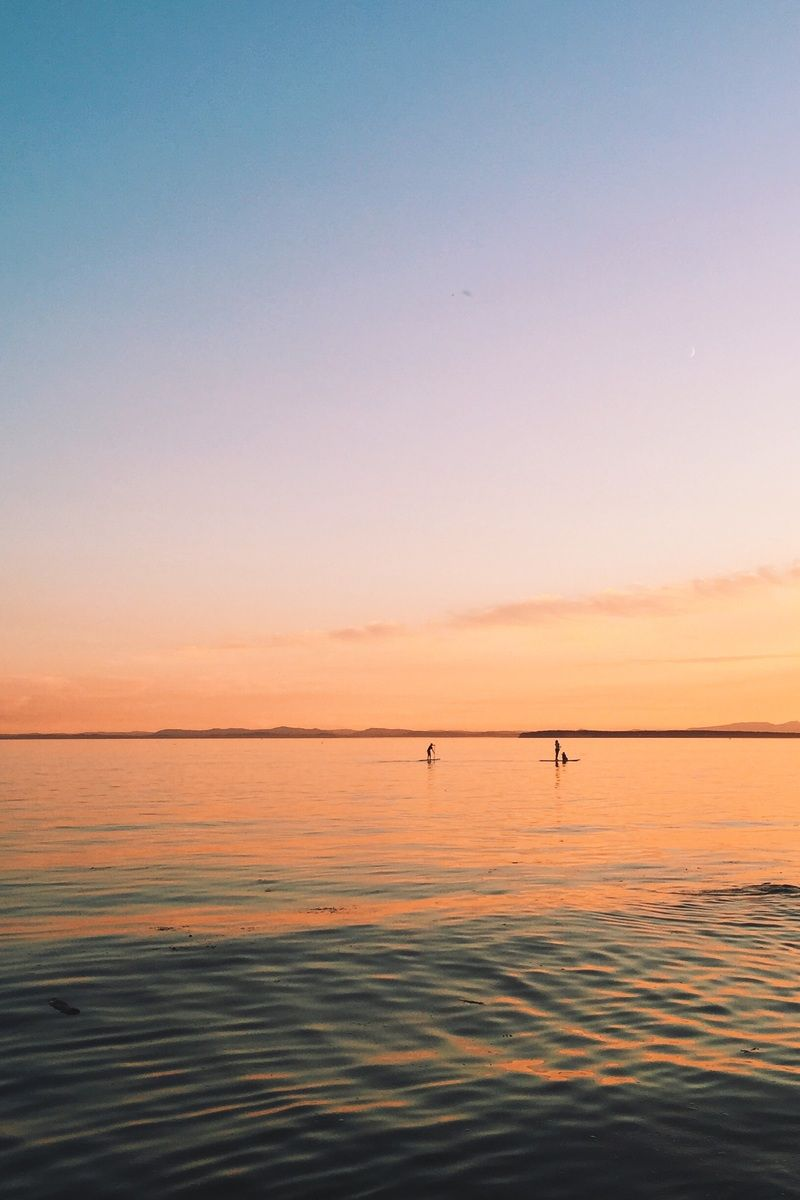 Free download of this photo: https://www.pexels.com/photo/sea-sunset-calm-27092 #sea #sunset #calm