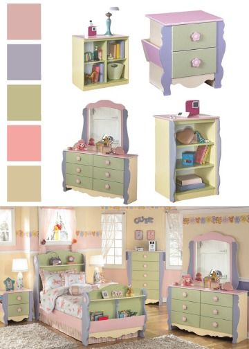 Looking for a functional and beautiful bedroom set for your daughter
