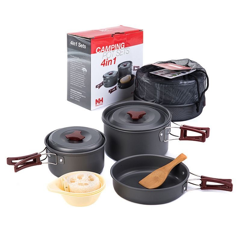 Online Buy Wholesale Outdoor Camping Supplies From China Outdoor Camping Cooking Set Cookware Set Cooking Bowl