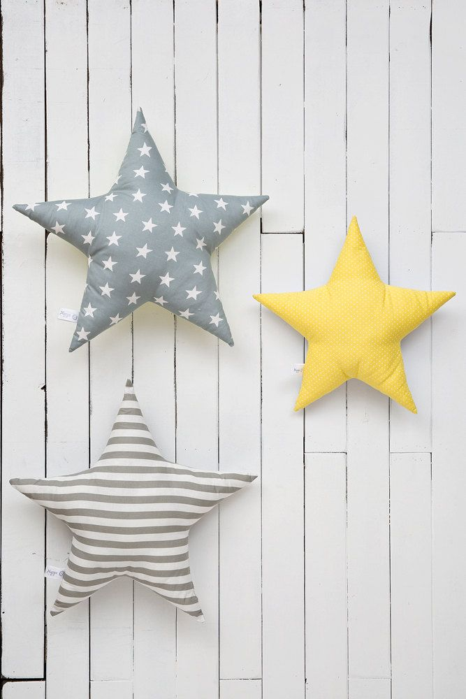 Star Shaped Pillow Star Decor Kids