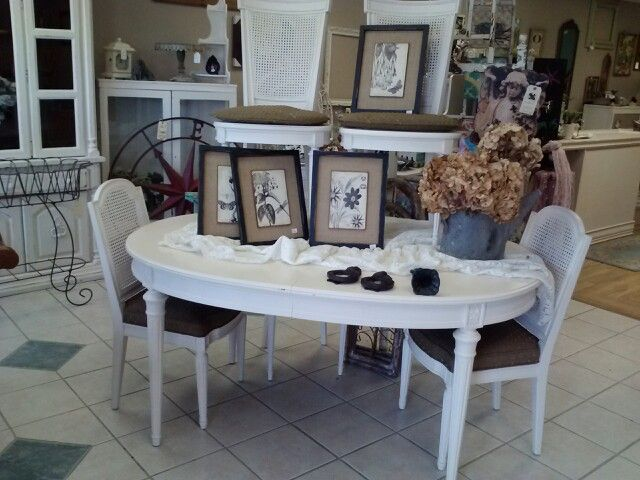 New At Lingering Legacy In Marysville Wa ~ French Dining Table And 5 Chairs  $350 ~