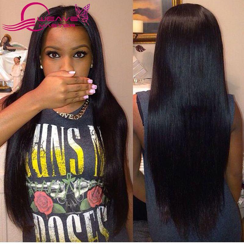 Weave Master 8a Unprocessed Virgin Hair Brazilian Straight Hair