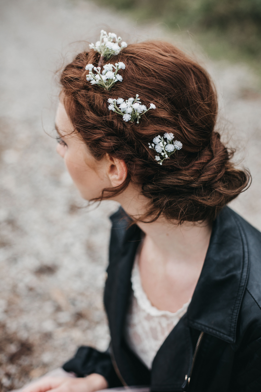 hettie gypsophila hair pin in 2019 | eco friendly romantic