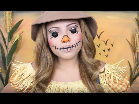 Transform Into A Creepy Scarecrow For Halloween With This Easy ...