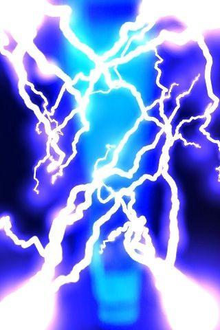 The Electric Blue Pillar