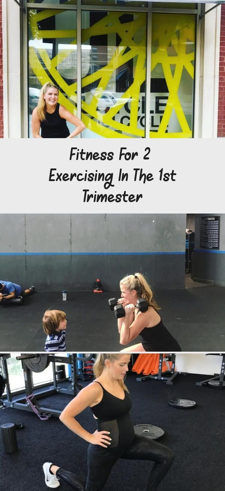 Fitness for 2 - Everything you need to know about training in the 1st trimester - The H is for ... #...