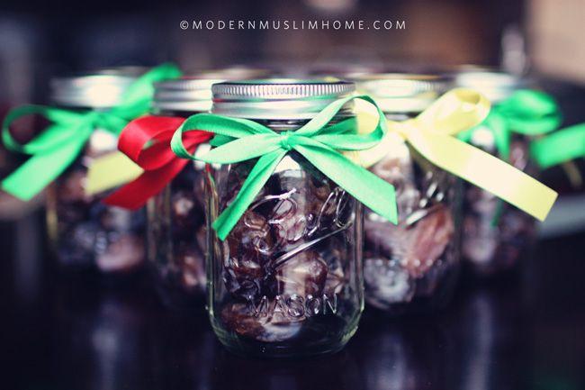 Ramadan Date Jars   www.ModernMuslimHome.com