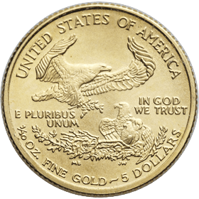 The Reverse Of The American Eagle 1 10 Oz Gold Coin Is Finely Crafted The Reverse Of The American American Eagle Gold Coin Silver Coins For Sale Gold Coins