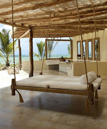 Designs For Coastal Patios And Porches Rumah Pantai Pondok Di