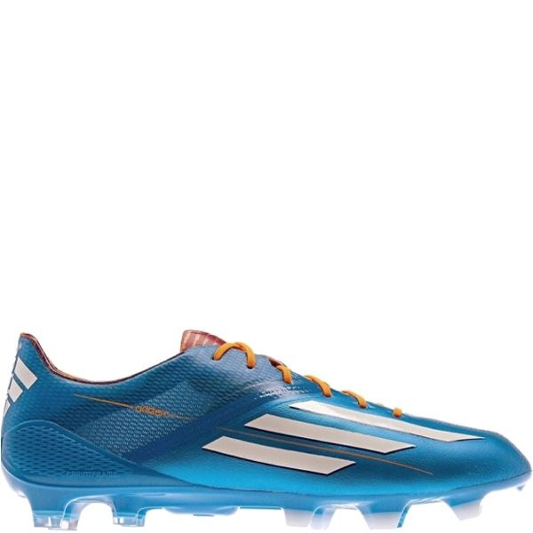 brand new 0ab9d b2eec adidas F50 Adizero TRX FG - Samba Pack - Solar Blue Running White Solar  Zest Synthetic Soccer Cleats - model D67203 - Only  197.99