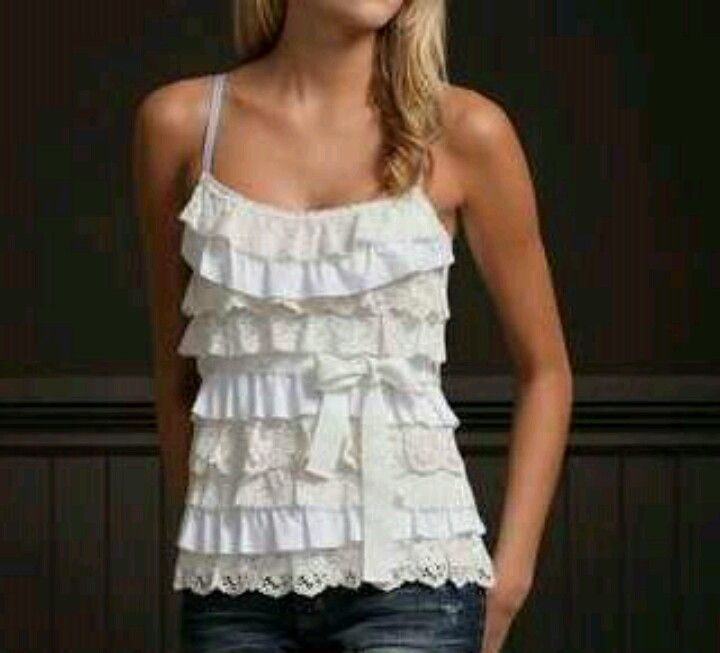 Summer ruffles.....too cute