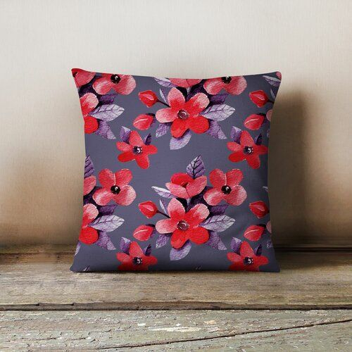 Kissenhulle Homemania Farbe Dunkellila Throw Pillows Pillows Bed